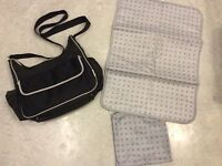Boots Baby Nappy Changing Bag with Matching Change Mat and Pouch