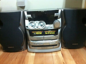 Kenwood RXD-A51 Mini Hi-fi Home Stereo