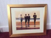 Framed Vettriano Billy boys picture