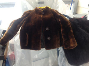 Vintage fur coats, 1 for $15. Or 2 for $25