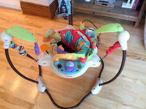 Exerciseur Jumperoo comme neuf