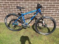 Genesis hard tail mountain bike
