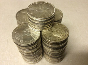 Silver Dollars & 50 Cent Pieces - Before 1967