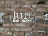 Line chef/ fry chef needed, lure fish kitchen , Kentish Town , £10.50 per hour