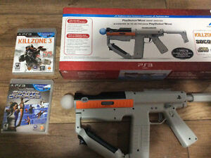 Sharp Shooter for PS3 includes  Motion Controller and etc