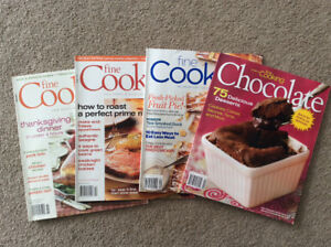 """Free """"Fine Cooking"""" magazines"""