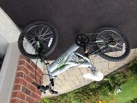 Grey mountain bike unisex