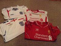 Bundle of football tops