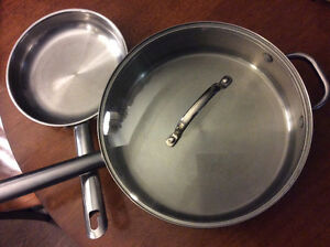 Wolfgang Puck Stainless Steel Frying pans