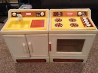 Little Tikes Kitchen Play Set - Sink and Stove