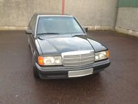 1993 MERCEDES 190D 5 cylinder 2.5L