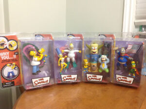 Mcfarlane the Simpsons collectable figures