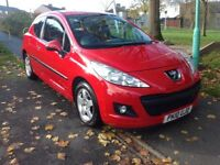 Peugeot 207 1.4. 2010. Low mileage full service history