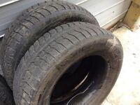 2 pneus 195/6515