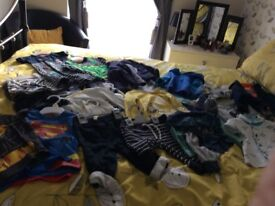 Large selection of baby boys clothes age 6-9 months