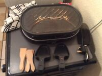 Electric griddle pan