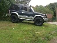 Swb pajero 2.8 auto diesel on/off roader winter pack