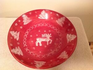 Awesome Large Christmas Serving Dish