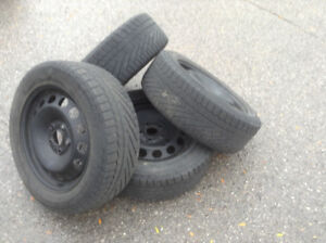 Used Snow Tires of VW TDI good condition