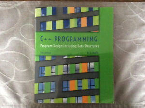 C + + Programming, Program Design Including Data Structures book