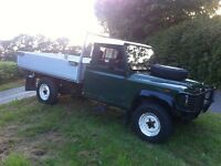 Land rover defender 130 long wheel base truck 2.5 td 1990 g reg