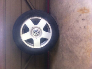 15 in vw tires and rims