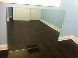 Large piece of mirror