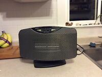 Sunbeam lightweight electric space heater