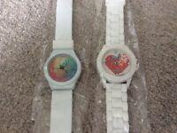 Brand new quartz watch with silicon jelly strap