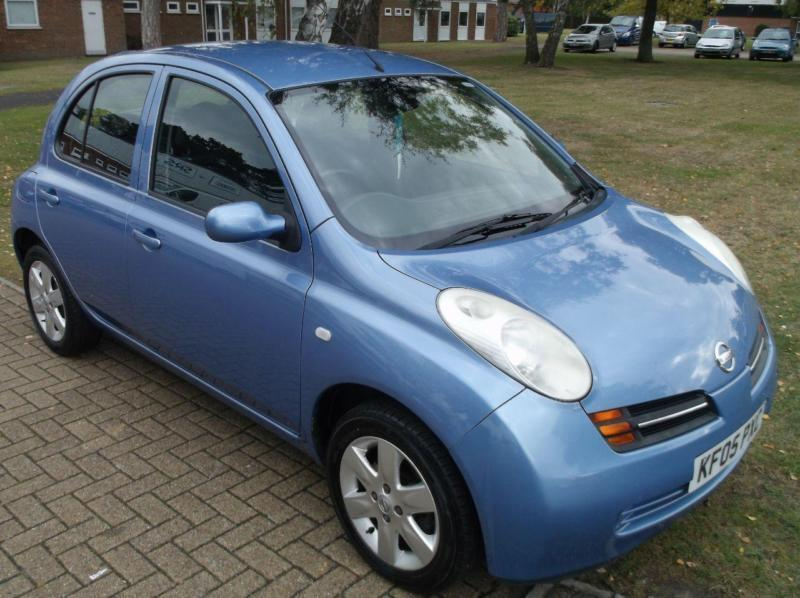 2005 nissan micra 1 4 sve 5dr 5 door hatchback in martlesham heath suffolk gumtree. Black Bedroom Furniture Sets. Home Design Ideas