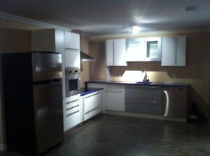 Two bedroom basement apartment. Avail. Nov.1. Near hospital