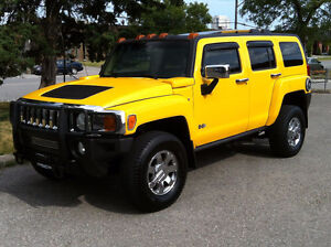 2006 HUMMER H3 CHROME PACKAGE - LEATHER|SUNROOF|RARE 5 SPEED