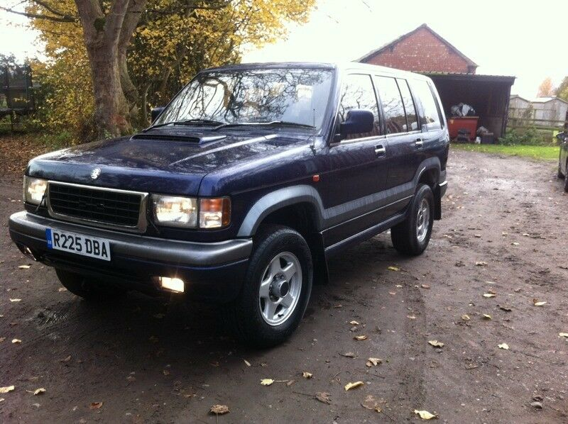 isuzu trooper 3.1 td vauxhall monterey uk car 11m mot 4x4 | in