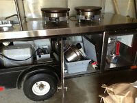 Crepe vending cart - professionally built