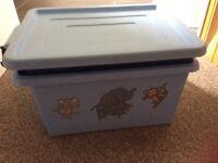 Baby nappy box