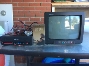 12V Color TV and VCR