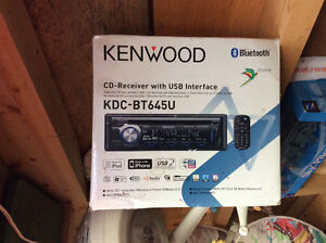 Kenwood deck with remote