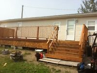 ----- MINI HOME- FOR SALE--ST STEPHEN NB - $ 28000-   negotiable