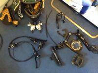 Mtb. Parts mountain bike parts etc