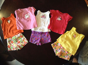 Gymboree summer outfits