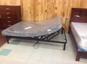 Brand new QUEEN SIZE Remote Controlled Adjustable Bed frames.