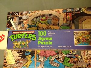 Teenage mutant ninja turtles vintage puzzle Windsor Region Ontario image 6