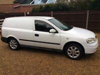 2005 05 Vauxhall Astra 1.7 cdti diesel van alloys new mot