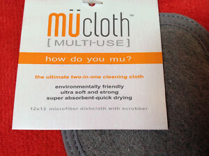 3 Mukitchen Mucloth microfibre cloth with built in scrubber Cambridge Kitchener Area image 3