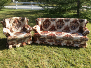 Chesterfield and Swivel Chair