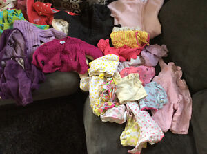 3 mos baby girl clothes, great condition s/f