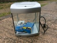Aqua one fish tank with BNIB pump