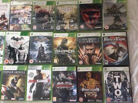 Xbox 360 games (bundle)