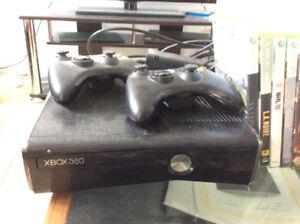 X box usagé et jeux