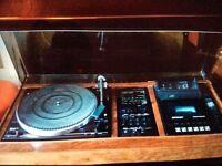 Dynatron music centre Garrard deck
